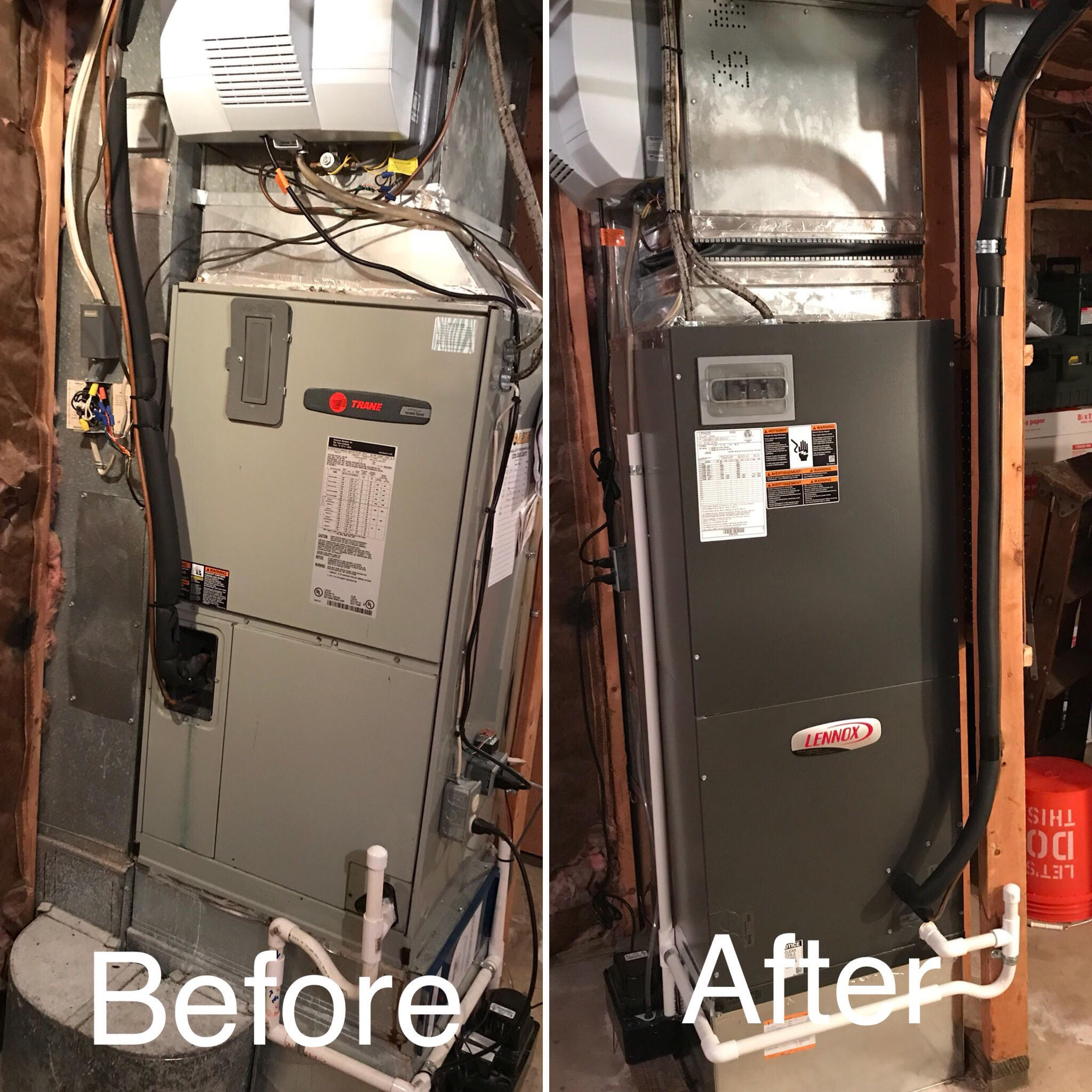 A/C & Heating System Replacement