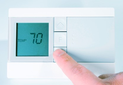 Thermostat for Heating and Air Conditioning Service